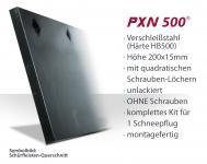 SchürfleistKit Verschleißstahl 200x15mm (X5H2U.N) UNLACKIERT | OHNE Schrauben